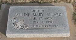 Pauline Mary Allard