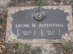 Leona <i>Nagel</i> Altenthal
