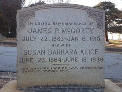 James P McGorty