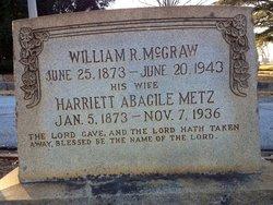Harriet Abagile <i>Metz</i> McGraw