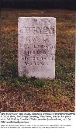 Margaret Peggy <i>Hunter</i> Mossman