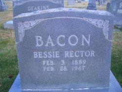 Bessie <i>Rector</i> Bacon