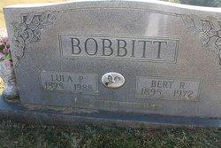 Robert R Bert Bobbitt