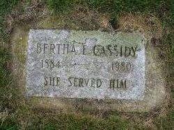 Bertha Ernestine Cassidy