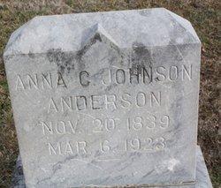 Anna C. <i>Johnson</i> Anderson