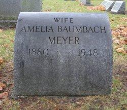 Amelia <i>Baumbach</i> Meyer