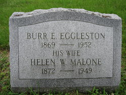 Rev Burr E. Eggleston