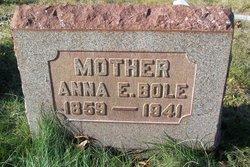 Anna E. <i>Allison</i> Bole