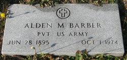 Alden Mark Barber