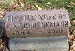 Garnet Myrtle <i>Carroll</i> Schueneman