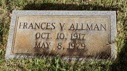 Frances V Allman