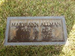 Mary Ann Allman