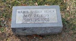 Mamie <i>Snider</i> Black