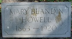 Mary <i>Blandin</i> Howell