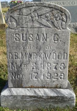 Susan Catherine <i>Barron</i> Markwood