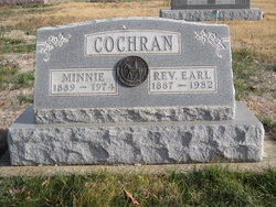Rev Earl Leroy Cochran
