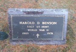 Harold DeMott Benson