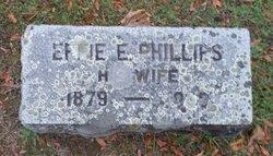 Effie E <i>Phillips</i> Burroughs