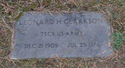Leonard H Clarkson