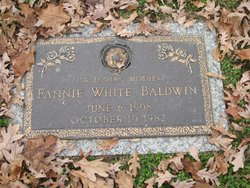 Fannie <i>White</i> Baldwin