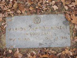 Marion <i>Lawton</i> Kinzey