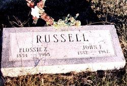 Flossie Zella <i>Walker</i> Russell