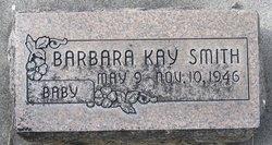 Barbara (Baby) Kay Smith