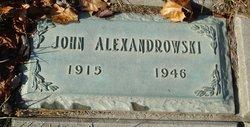 John Alexandrowski