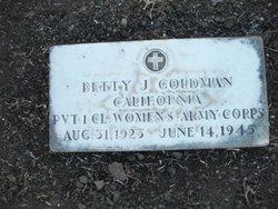 PFC Betty Jane Goldman