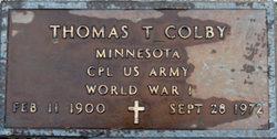 Thomas T Colby