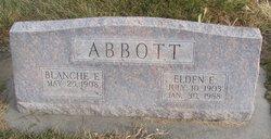 Blanche Elizabeth <i>Cox</i> Abbott