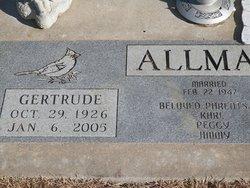 Gertrude Allman