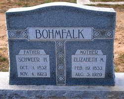 Elizabeth Mary <i>Hardt</i> Bohmfalk