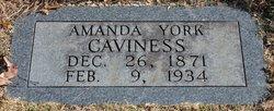 Amanda <i>York</i> Caviness