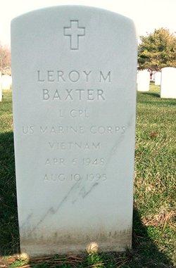 Leroy M Baxter