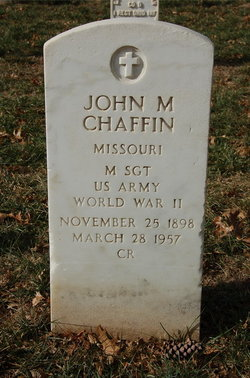 John Merle Chaffin