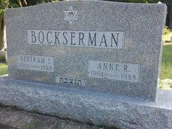 Bertram I Bockserman