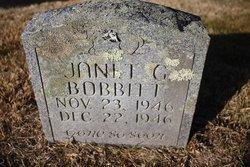 Janet G. Bobbitt