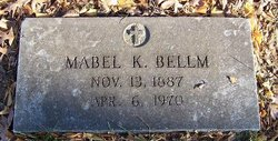 Mabel K <i>Karr</i> Bellm