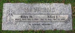 Alice Jane <i>Oswald</i> Hawkins Fairchild