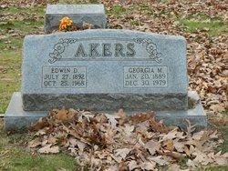 Edwin D Akers