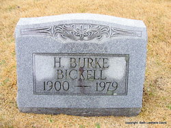 H Burke Bickell