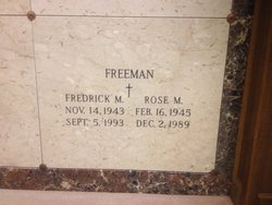 Frederick M. Freeman