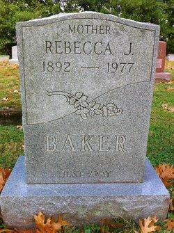 Rebecca J <i>Wilburn</i> Baker