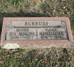 Ida A <i>Schoen</i> Burruss