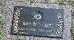 Mary <i>Head</i> Carter