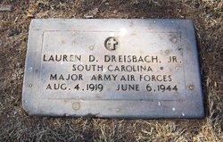 Maj Lauren Dwight Dreisbach, Jr