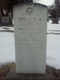 Pvt Gerald A Asleson
