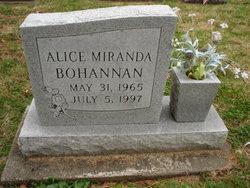 Alice Miranda Bohannan