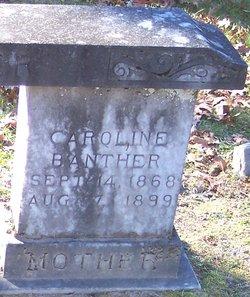 Caroline Catherine <i>McCall</i> Banther